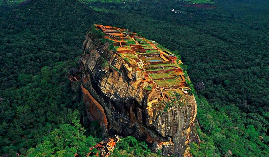 Sigiriya the LION'S ROCK